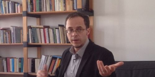 Balázs Zoltán a HÉTFA Műhelyben