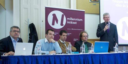 Balás Gábor előadása a Millenium Intézet konferenciáján