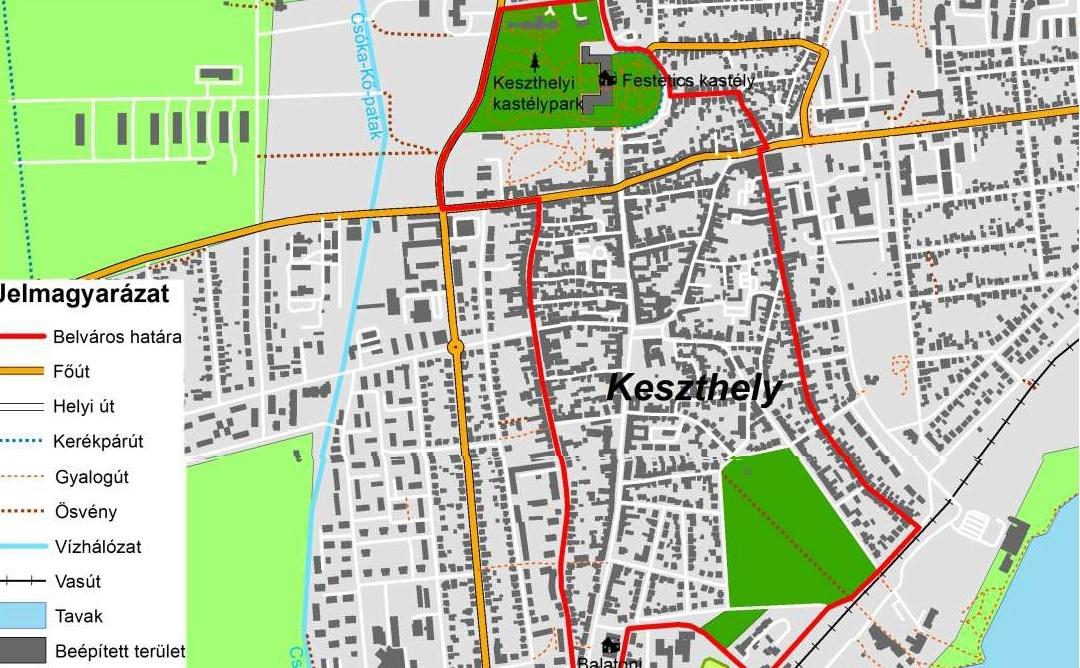 Keszthely belváros gazdasági rehabilitációjának előzetes megvalósíthatósági tanulmánya