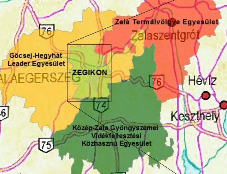 Zegikon Helyi Közösség Fejlesztési Stratégiája 2016-2020
