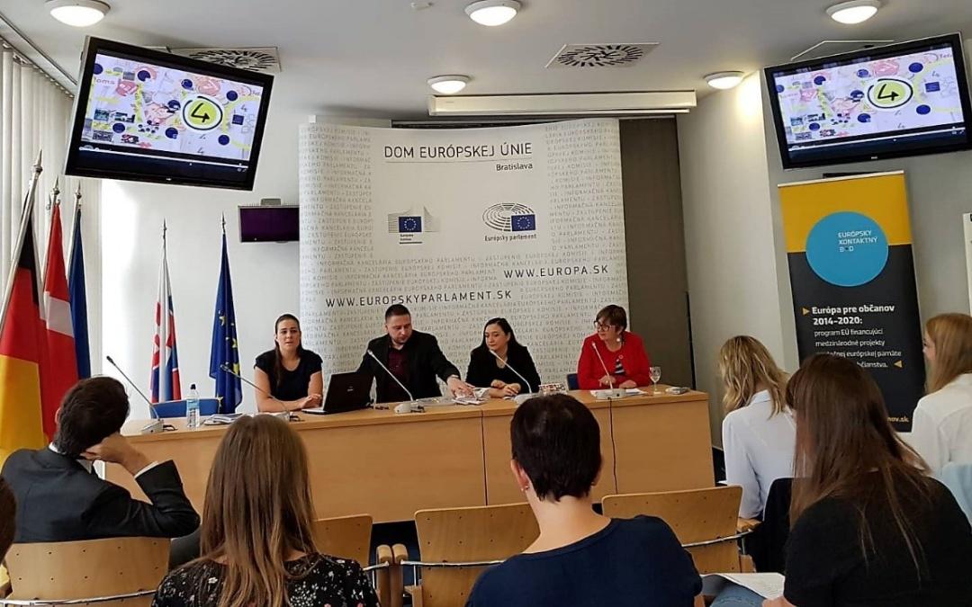 Az Európa a Polgárokért Program Közép-Európai Kapcsolatépítő Eseményén adott elő kollégánk