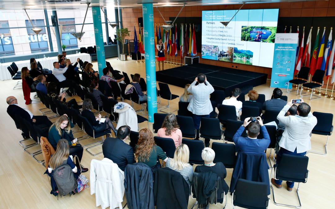 A HÉTFA is részt vett Brüsszelben a Régiók és Városok Hete rendezvénysorozaton
