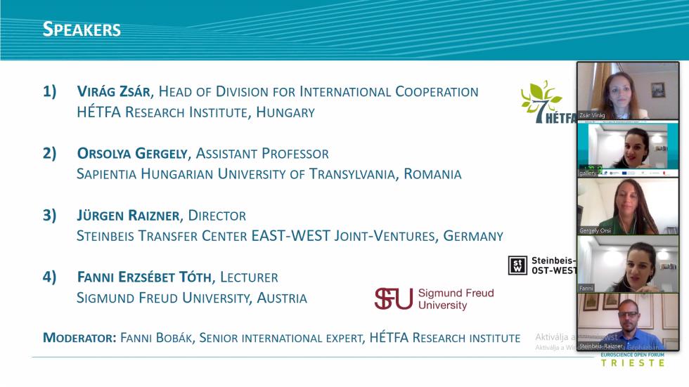 A HÉTFA is részt vett az EuroScience Open Forumon