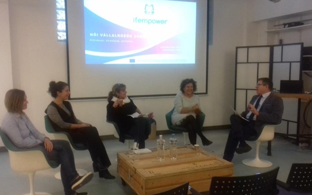 Női vállalkozókkal foglalkozó HÉTFA Műhely az Erasmus+ Days programsorozat keretében