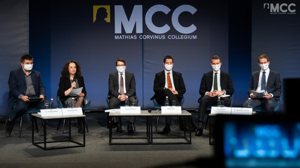 Változó hangsúlyok a 2021-2027-es uniós fejlesztési programokban – Balás Gábor az MCC és a Századvég konferenciáján